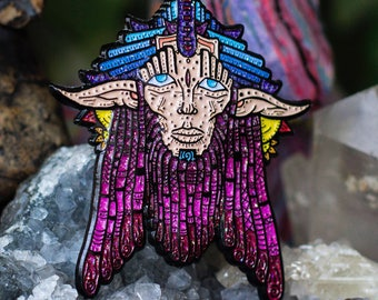 The Wise Wook Pin Glitter Fairy Variant