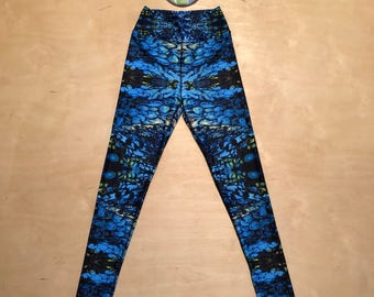 "The ""Blue Dream"" Kaleidoscopic Apparel Yoga Pants (LE 25)"