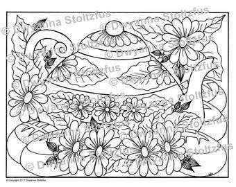 Tea Pot Coloring Page PDF