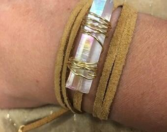Quartz Wrap Bracelet