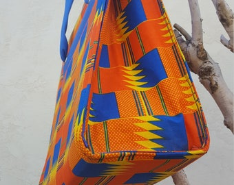 African print Baby Essentials bag