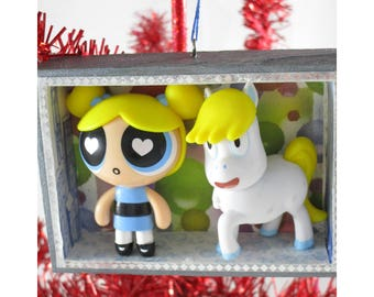 Bubbles and Donny Ornament