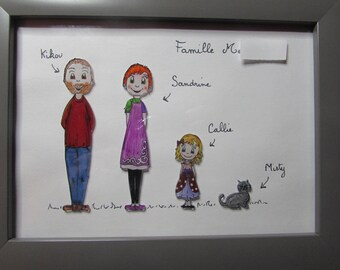 Frame family personalized perlinpinpot's