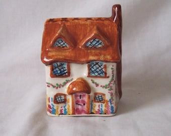 Country Cottage Money Box Cottage Ware Money Box c.1950