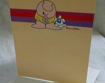 Tom Wilson's Ziggy Unused Birthday Card