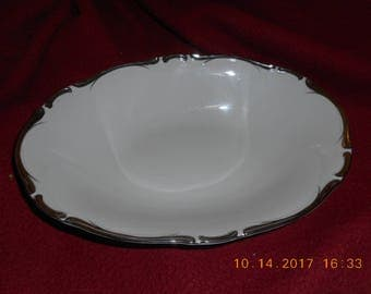 """10"""" Oval Vegetable Bowl in Starlight by Harmony House China"""