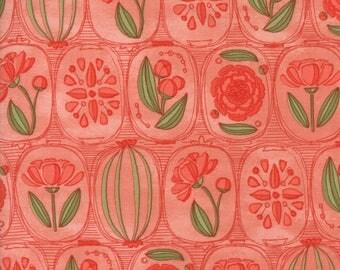 Moda BLUSHING PEONIES Quilt Fabric 1/2 Yard By Robin Pickens - Petal 48611 14