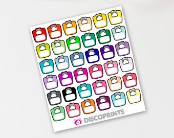 Scales/Weight Loss Stickers