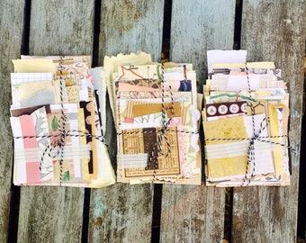 Vintage paper pack,vintage paper stack,journal paper,art journal kit,vintage junk journal,paper destash,vintage paper