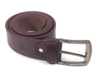 Jacob Thick Full Grain Leather Belt