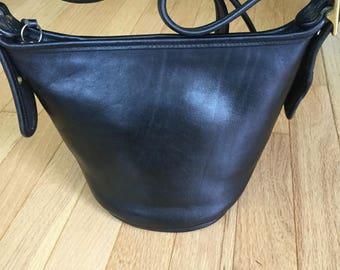 Coach Classic Maggie Shoulder Bag in Black
