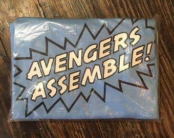 NOS vintage Marvel avengers t-shirt 1985