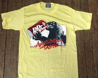 "Vintage Nos ""Godzilla""  Dr. Pepper T-Shirt 1980's"
