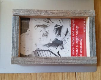 "6"" Reclaimed Wood Magnetic frames"