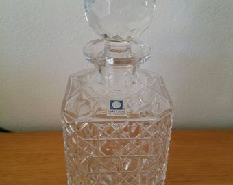 Vintage Cut Crystal Decanter/Parka Crystal