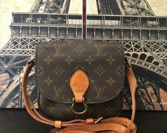 Louis Vuitton Monogram Canvas St Cloud PM Vintage Shoulder Bag