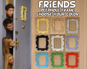 FRIENDS tv show friends peephole frame friends frame door frame regalo para mujer regalo para fiesta de inauguracion gift mom gift for her