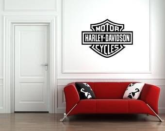 Motorbike Sign Logo Motor Cycles Car Decal Vinyl Sticker Wall Art Stencil