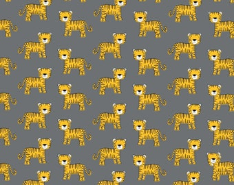 Yellow Tiger - Amne Organic Jersey Knit Fabric