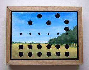 021216 - Acrylic on Canvas - Landscape