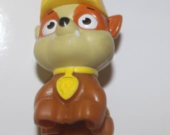 Rubble Paw Patrol 3D Pendant