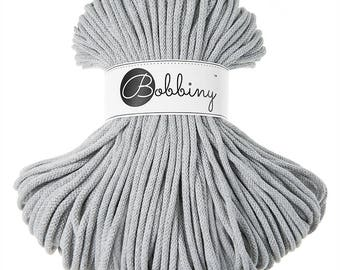 Bobbiny Rope – Light Grey (100m)