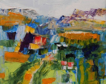 """Painting """" Fields summer """""""