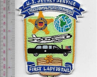 US Secret Service USSS Presidential Protective Division First Lady Detail Agent Service Patch