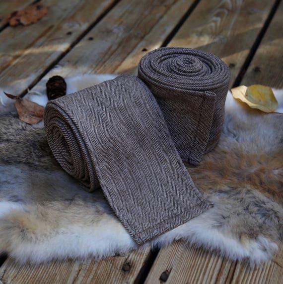 New! Viking Rye Brown Wool Wraps Winingas Vindingr Wickelbander vaf-spjôrr, Garb, Norse, SCA LARP, Anglo Saxon, Armor, Reenactment