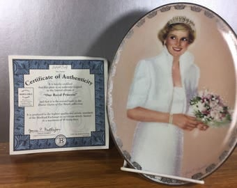 Our Royal Princess/ Diana Queen of Hearts Collector Plate
