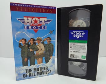 Hot Shots VHS Tape