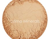 Ultimo Minerals HONEY MEDIUM All-Natural Kosher Full-Coverage Mineral Foundation - Soft Pearlescent Finish - FREE Shipping!