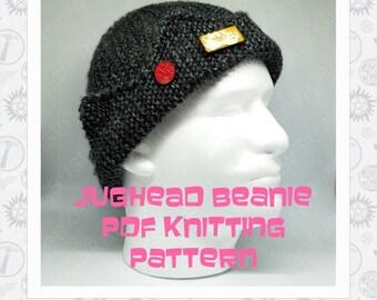Jughead Jones Hat PDF knitting pattern