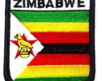 Zimbabwe Embroidered Patch