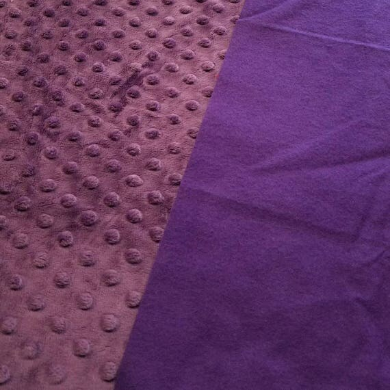 Purple, Weighted, Lap Pad/Small Blanket/Travel Weighted Blanket, 3 pounds,  14.5x22, Autism, SPD, PTSD, Small Weighted Blanket