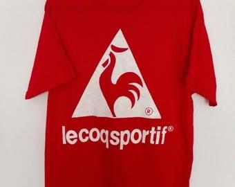 Vintage LecoqSportif Tshirt Size Large