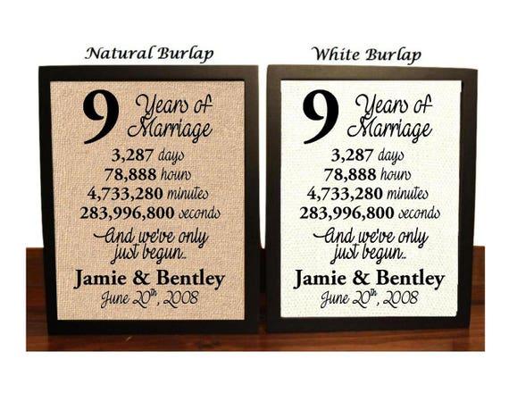 9th Year Wedding Anniversary Gifts: 9th Wedding Anniversary 9 Year Wedding Anniversary 9th