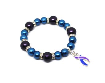 Rheumatoid Arthritis - Ra Bracelet - Ra Jewelry - Ra Awareness - Rheumatoid Arthritis Awareness - RA Warrior - RA Warrior Gift - RA