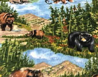 Fleece Big Dog Jacket -  Bears is the Wild
