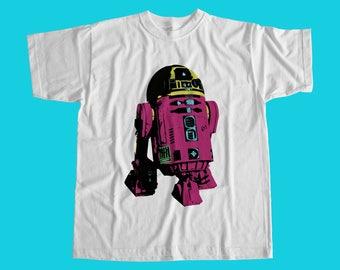 R2D2 Popart T Shirt - Artoo / Star Wars Inspired / High Quality Custom Print