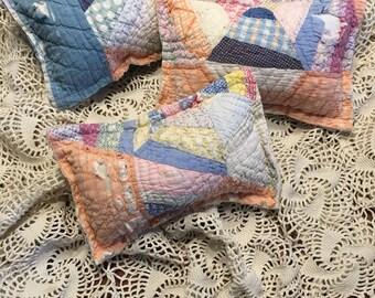 Orange, White and Blue Posing Pillow/ Boy Posing Pillow/ Newborn Boy Posing Pillow
