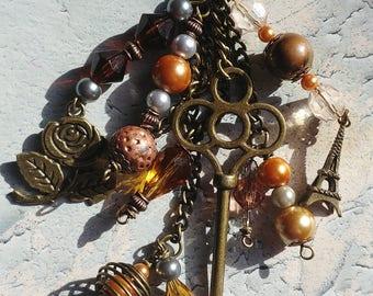Bronze Large Key Planner/Key Charm