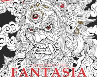 FANTASIA Coloring Book By Nicholas F Chandrawienata