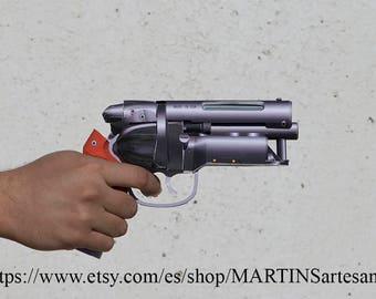 Model of the revolver Blaster, of Blade Runner