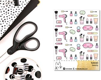 Kawaii beauty Sticker II Planner Sticker II
