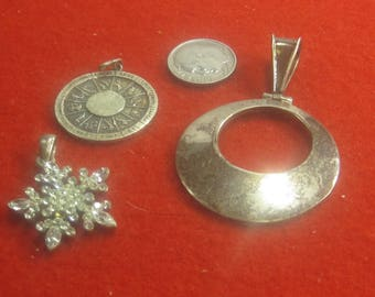 P-1 Vintage Pendants 925 silver