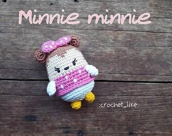 Ready to ship:Minnie Keychain