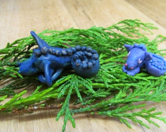 Two dragons - polymer clay
