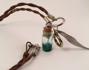 Miniature Bottle Necklace