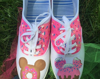 Mickey donut shoes